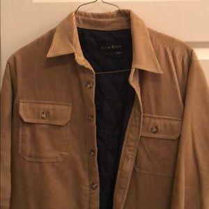 Club room corduroy jacket.